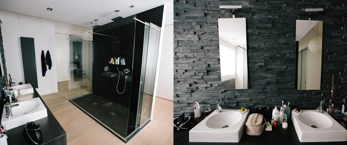D comic salle de bain for Salle de bain douche ou baignoire